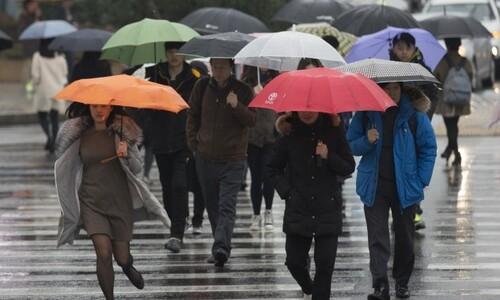 쌀쌀한 날씨는 풀리지만 내일 오전엔 수도권·강원 영서 '비' ☔
