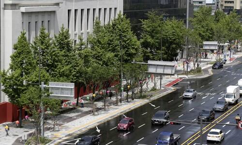 [포토] 오늘부터 세종대로~서울역 '사람숲길' 걸어요