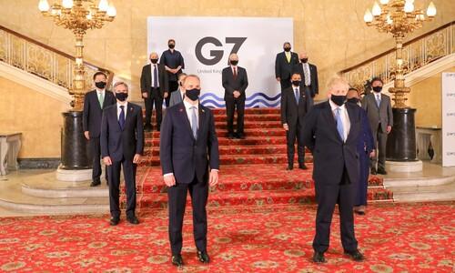 """G7 장관회의 참석 정의용 """"한반도 평화프로세스 지지·협조를"""""""