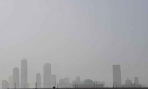 1100㎍/㎥ 넘었다…어제보다 독해진 미세먼지, 내일은 '숨통'