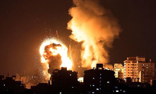 로켓포 발사에 전투기 보복 공습…이-팔 유혈충돌 악화