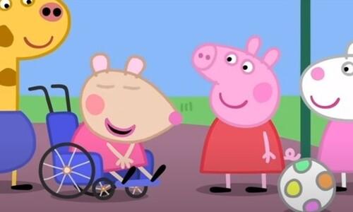 휠체어 탄 공주가 디즈니 영화의 주인공이 되는 날