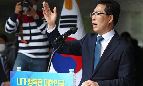 """세종서 출사표 던진 양승조 """"지방분권 대통령 될 것"""""""