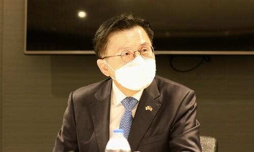 """한-미 동맹 차원?…황교안 """"서울·부산·제주에 백신 지원해달라"""""""