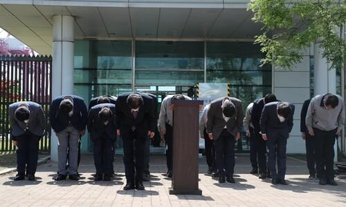 '평택항 참변' 원청업체, 이선호씨 사망 20일 만에 공식 사과