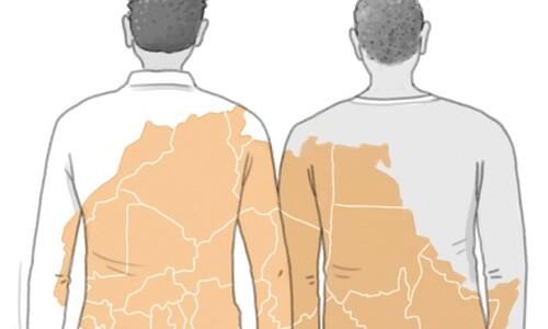 아프리카 출신 두 친구의 사연