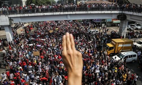 포기하지 않는 미얀마 시민들, 희망의 손 내민 광주