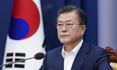 """문 대통령 """"현 정부 대표 성과는 '코로나 위기 극복' 될 것"""""""