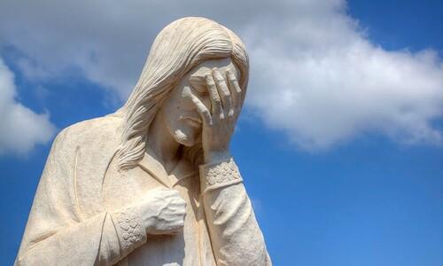 기도할 때는 의연한척 하지않아도 된다