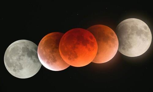 오늘 밤 지구가 '붉은 보름달' 삼키지만 날이 흐려서…