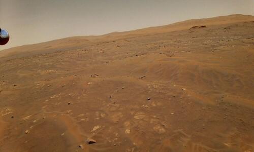'아찔한 순간' 맞은 화성 헬리콥터 6번째 비행