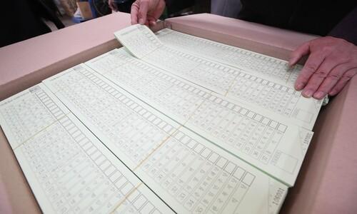 [2020총선] 당황 마세요…올해 투표용지 역대 최장 48.1cm