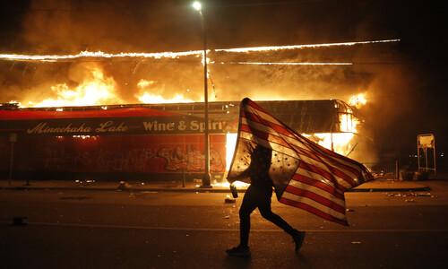"""외교부 """"미국 '흑인 사망' 시위로 미네소타 한인 상점 피해"""""""