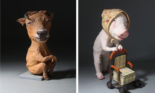 """주름 가득한 돼지가 묻는다…""""너는 늙어 봤느냐"""""""