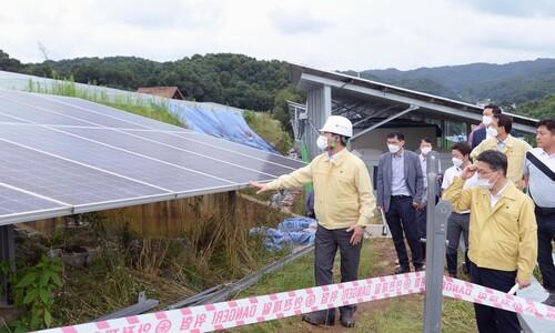 """정부 """"태양광 설치 증가와 산사태, 서로 상관관계 없어"""""""