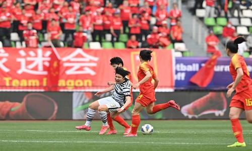 여자축구, 접전 끝 중국과 2:2…올림픽 본선 진출 불발