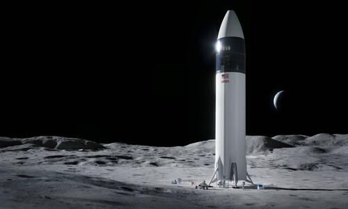 나사, 달 착륙선 개발업체로 스페이스엑스 선정