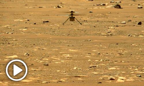 """화성 헬리콥터 2차 비행 성공 """"더 높이 더 오래 날았다"""""""