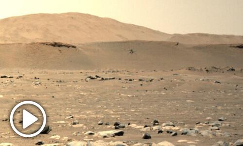 화성 헬리콥터 3차비행…지구에서보다 더 빨리, 멀리 날았다