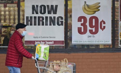 미국 4월 일자리 증가, 예상에 크게 못미쳐