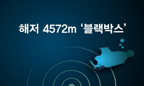 해저 4572m '블랙박스'