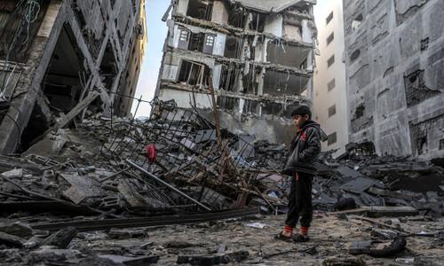 """샌더스, 바이든에 """"팔레스타인인 목숨도 중요하다"""""""