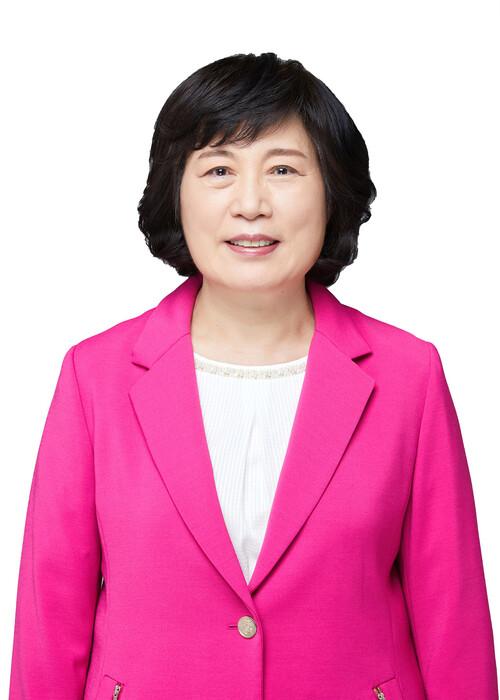 정경희 미래한국당 비례대표 후보. 중앙선거관리위원회 누리집.