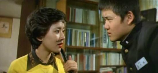 영화 <고교 얄개>의 한장면