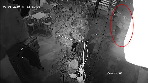 여성 어깨 만진 뒤 '비틀비틀'…부장검사 성추행 장면 포착