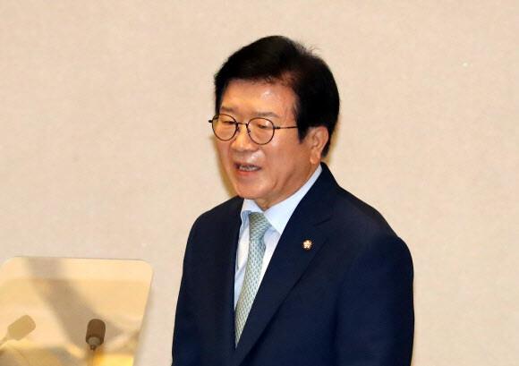 21대 국회의장에 '6선' 민주당 박병석 의원 선출