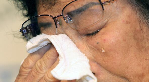 일제강점기 때 조선여자근로정신대로 끌려가 '노예노동'을 했던 양금덕(89·광주광역시 서구 양동) 할머니. <한겨레> 자료 사진