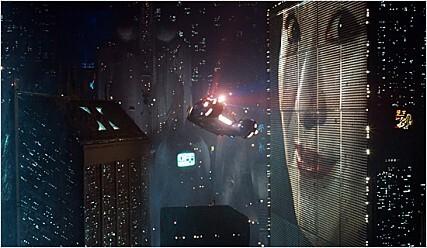 필립 케이(K) 딕의 작품을 영화화한 작품, <블레이드 러너> 사진 수입사 제공