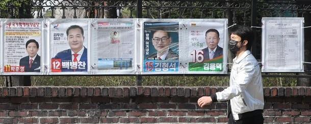 """""""반드시 투표"""" 73%…진영대결 더 거세졌다"""