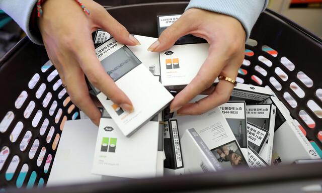 일부 액상 전자담배서 중증 폐질환 유발 의심 물질 검출