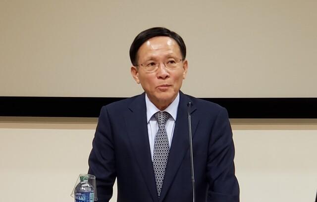 """이수혁 주미대사 """"남북 철도 연결 시급""""…정부, 정밀조사 준비 중"""