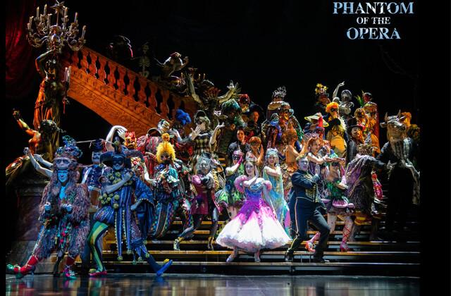 <오페라의 유령>의 한장면. 클립서비스 제공