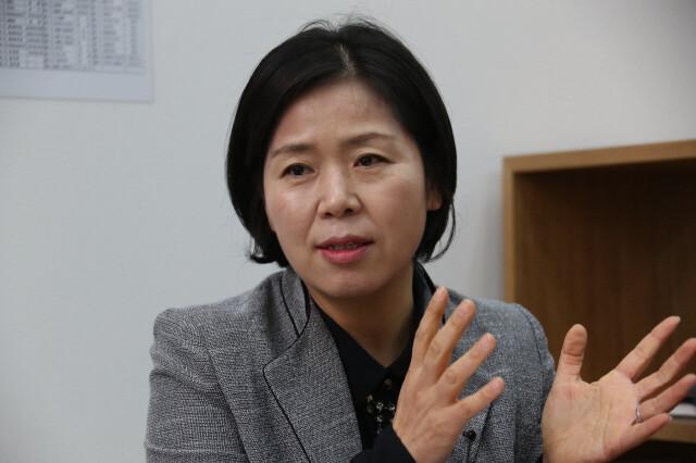 양향자 더불어민주당 국회의원. 한겨레 자료사진