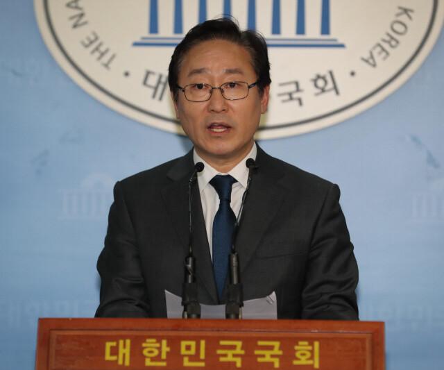 박범계 더불어민주당 의원. 강창광 기자 chang@hani.co.kr