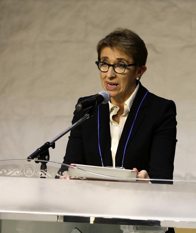 리타 게디니(Rita Ghedini) 볼로냐 협동조합연합회장. 김명진 기자 littleprince@hani.co.k