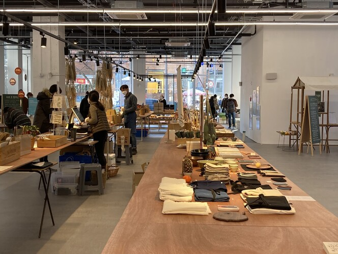 다음달 10일까지 서울 중구 페이지명동에서 농부시장 마르쉐의 상설 판매가 진행된다.