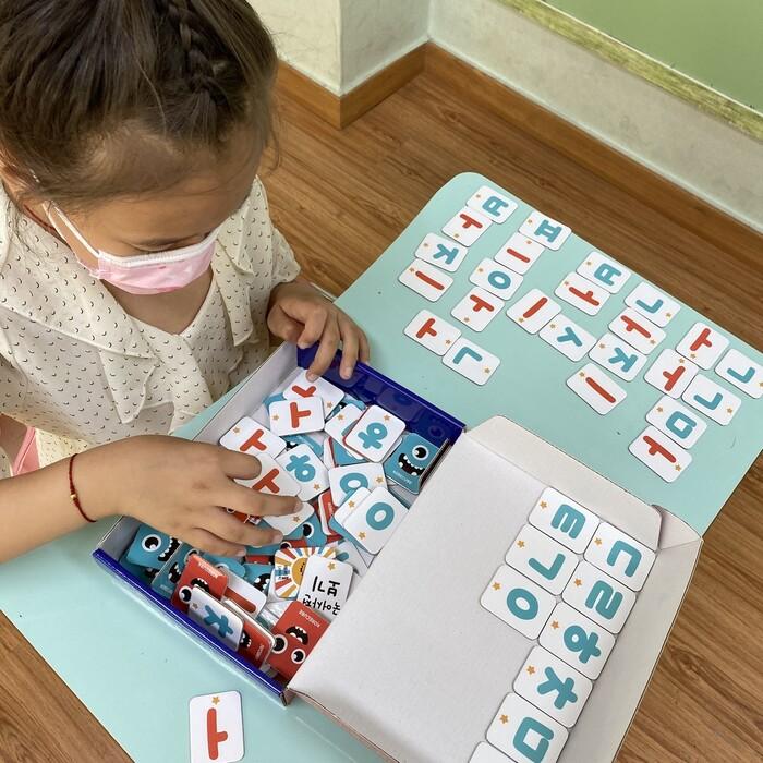 2019년 세류초 한국어 교실 수업 모습. 수원시 제공