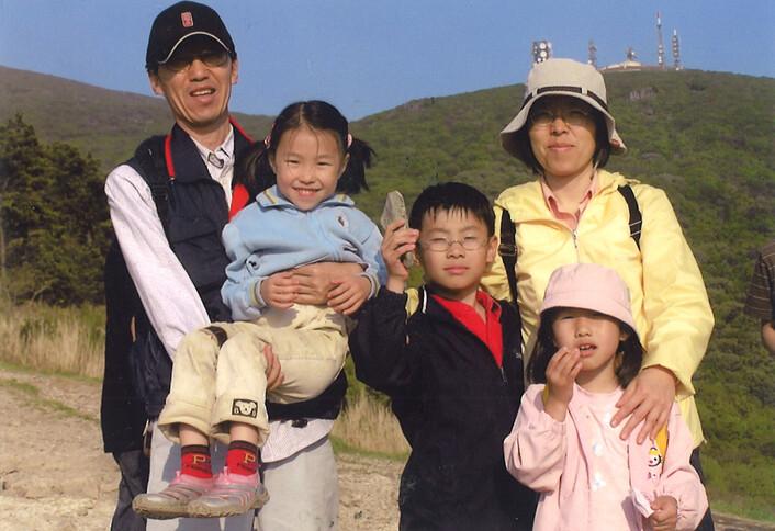 온 가족이 함께 올라간 무등산 중머리재.