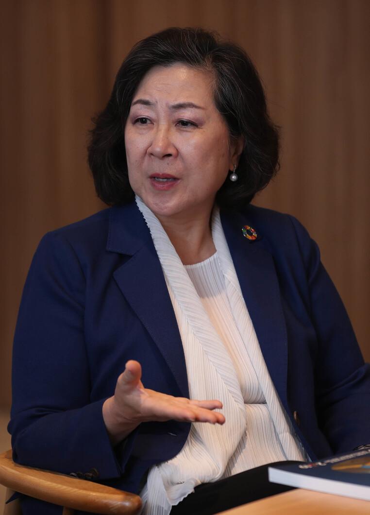 김은미 이화여대 국제대학원 교수