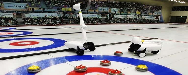 빗질 못하는 컬링 AI로봇은 어떻게 대표급 선수들을 이겼을까
