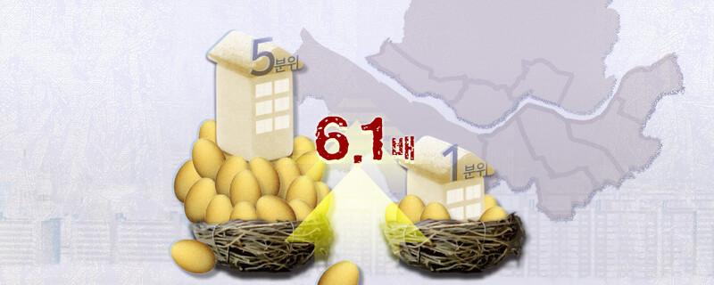 비쌀수록 더 '천정부지'…서울 아파트값 양극화 사상 최대