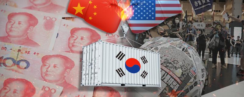 '한국의 네번째 수출국' 홍콩 '특별지위' 박탈땐 타격 불가피