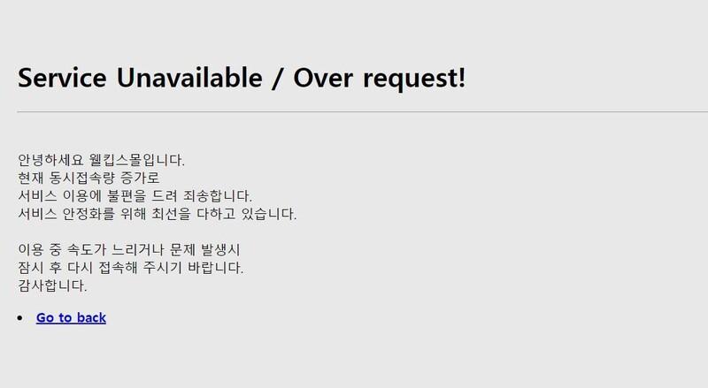 '장당 500원' 비말차단 마스크 판매 첫날 웰킵스몰 '먹통'