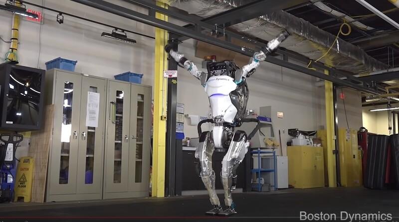 인간형 로봇 '아틀라스'.