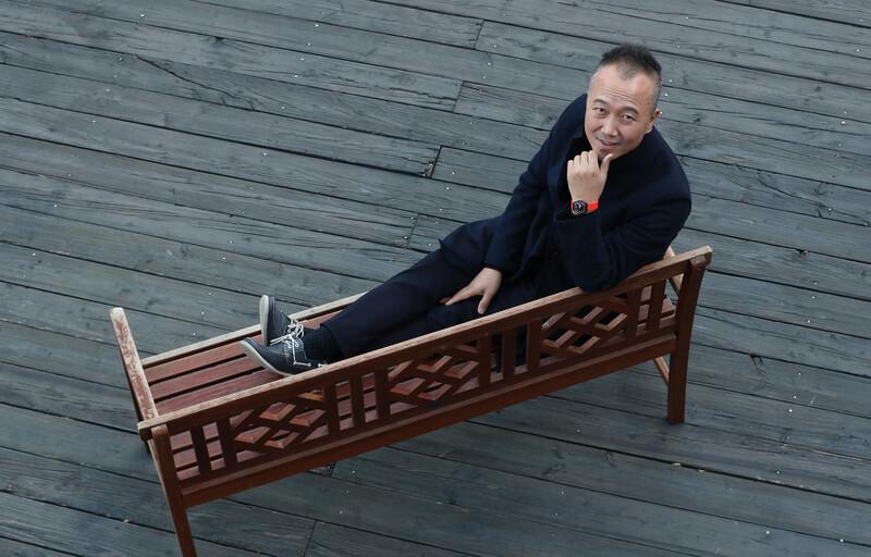 다큐멘터리 <우리를 갈라놓는 것들>을 연출한 임흥순 감독. 김정효 기자 hyopd@hani.co.kr