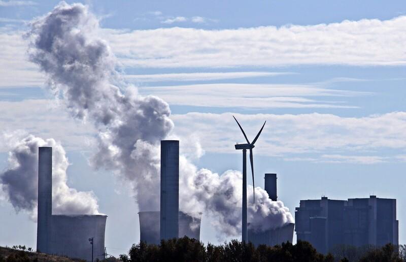 석탄화력발전소. 픽사베이